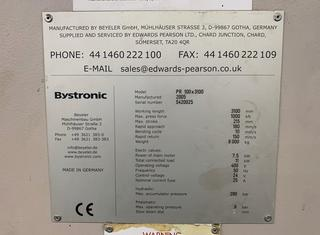 Bystronic PR 100/3100 P210215036