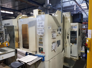 Centro di lavoro orizzontale Okuma MX-50 HB