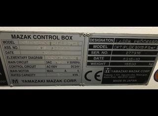 Mazak OPTIPLEX 3015 II FIBER 6KW P210217007