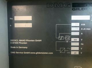 DMG DMU100T P210217062