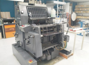 Offset un color Heidelberg GTO 52-1
