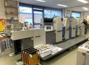 Ryobi 524 HXX High Pile 4 Farben Offsetdruckmaschine