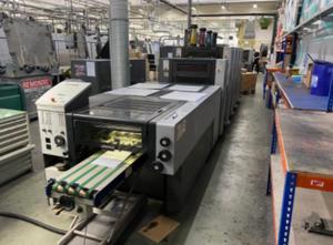 Heidelberg SM 52-4 LX Anicolor 4 Farben Offsetdruckmaschine