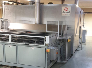 Línea completa de producción de croissant, galletas Comas Gouet Muffinline
