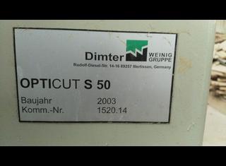 Weinig Opticut S50 P210219164