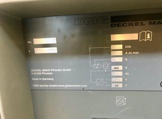 DECKEL MAHO DMC 80FD DuoBlock P210219208