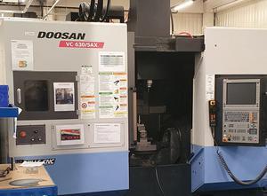 Centro de mecanizado 5 ejes Doosan VC630/5AX