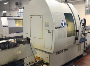 Automat tokarski wzdłużny Tornos DECO 20A / 26A + IEMCA 432R