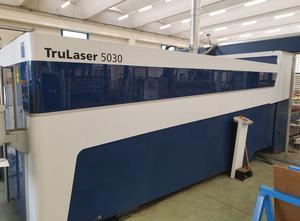 Trumpf TruLaser 5030 FIBER 3kW Trudisk 3001 laser cutting machine