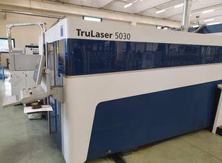Trumpf TruLaser 5030 FIBER 3kW Trudisk 3001 P210223076