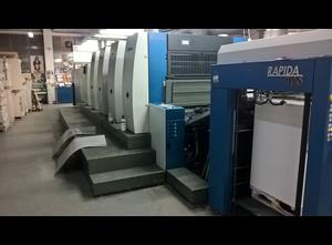 Rapida 105 -4+LAV 4 Farben Offsetdruckmaschine