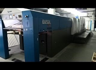 Rapida 105 -4+LAV P210224037