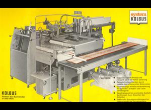 Kolbus DA36 Mantelmaschine