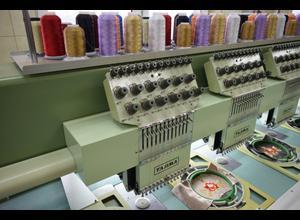 Tajima TMFD-G1215-S Stickmaschine
