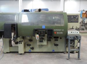SCM Superset 23 Used spindle moulding machine