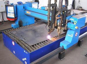 Machine de découpe plasma / gaz AirLiquide Oerlikon Oxy Tome 20