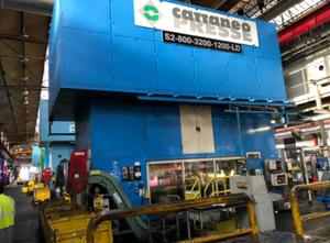 Cattaneo S2 800 3200 1200 LD Гидравлический / Механический пресс
