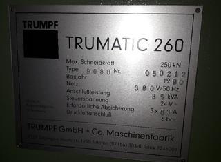 Trumpf TC 260 R P210302084