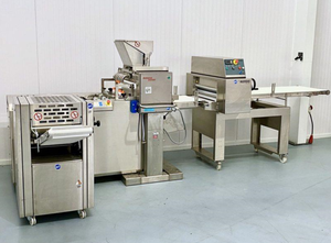 Línea completa de producción de croissant Seewer Rondo Croissomat SCMG 50