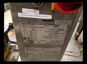 Mettler toledo XE 3 DMS Kontrollwaage