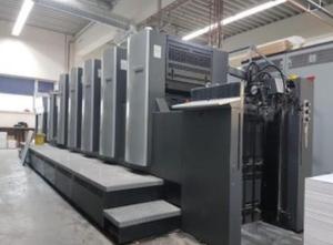 Heidelberg SM 74-5P+L 5 Farben Offsetdruckmaschine