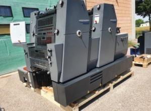 Heidelberg GTO Printmaster 52-2 Offsetdruckmaschine 2 Farben