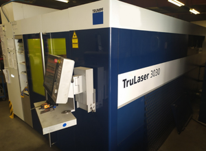 Trumpf FIBER TruLaser 3030 laser cutting machine