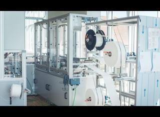 German mask line PIA - 80 parts / min. P210310056