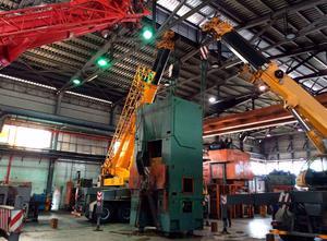 Radaelli C 600 ton Entgratpresse