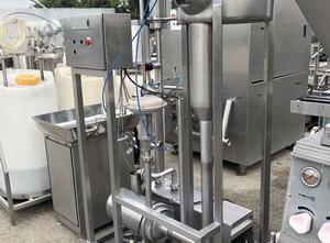 Mlékárenský stroj - výroba sýru, porcování a balení Kolding Grupe De airiator