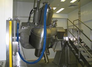 Granuladora farmacéutica Zanchetta  Roto P900
