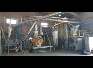 ROBI INTERNATIONAL QPJ800 Complete equipment for the production of pellets 1000 kgs / hour