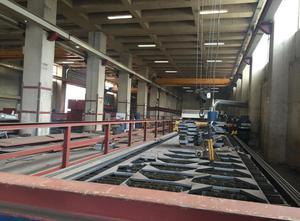 Ajan 12000 mm x 2500 mm Schneidemaschine - Plasma / gas