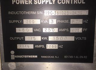 INDUCTOTHERM 175 KW P210315141