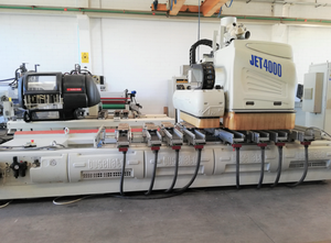 Used Busellato JET 4000 4 AXIS Wood CNC machining centre