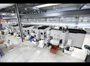Centro de mecanizado horizontal Mori Seiki 3x NH6300 (4axis) 1x NMH6300 (5axis)