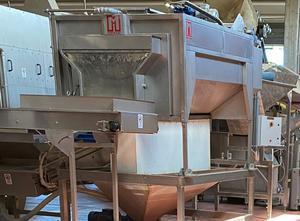 Machine de découpe, lavage et blanchiment de fruits et légumes Martin Maq LPR 620