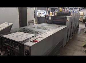 Heidelberg SM52-5+LX Anicolor 5 Farben Offsetdruckmaschine