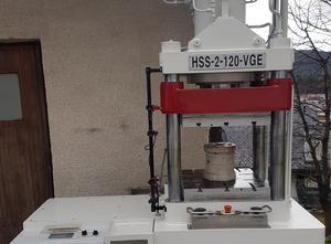 Potwell 120 Ton rubber vulcanization press