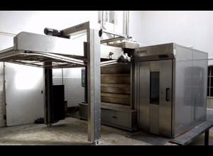 Kornfeil thermal oil furnace automat 180/200 Rotary oven