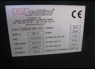 TCI Cutting Smartline Fiber 3015 P210322025