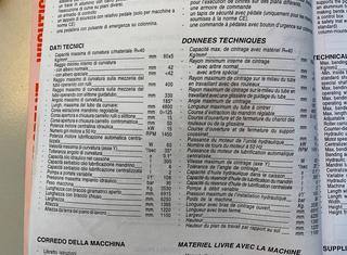 Pedrazzoli UNIVERSAL BROWN 80 CDB CN 1 axis P210323067