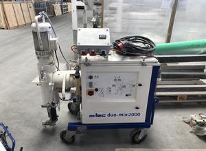 Pompa di miscelazione M-TEC Duo Mix 2000 + 2 silos