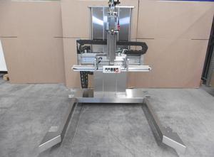 Burgener ISPV-3-1100-2 halbautomatische Schweissmaschine zum Verschliessen von offenen PE-, Papier- oder alukaschierter Säcken