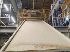 Stroj na zpracování dřeva WIKOMA Honeycomb drying-stretching machine type EX–05/NE–W