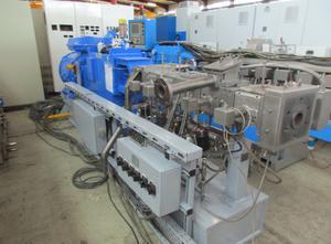 Coperion Werner & Pfleiderer ZSK 58 MC Compoundier-Anlage mit BKG UWG