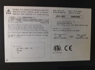 Mimaki JFX-1631 P210325165