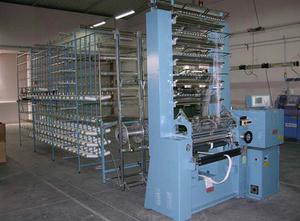 COMEZ type DNB/EL-800-8B electronic double needle bed warp knitting machine