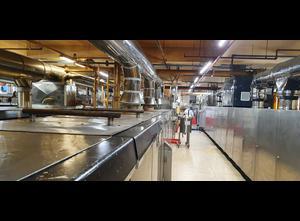 Línea completa de producción de croissant, galletas Haas SWAK72G