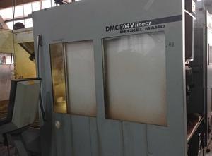 DECKEL MAHO DMC 104 V Linear Bearbeitungszentrum Vertikal